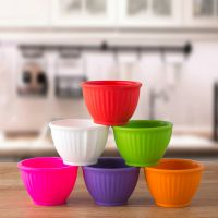 家用餐具宝宝吃饭碗具 圆形安全环保硅胶儿童碗厂家