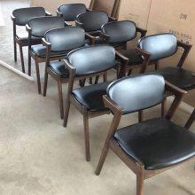 定制北欧实木餐椅 靠背椅子 实木Z椅子厂 进口白橡实木餐椅系列
