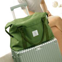 亚马逊爆款帆布包pinK旅行收纳包手提袋健身单肩包行李瑜伽拉杆包