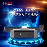 广州凤尾灯万能平板打印机制作工艺 导光板数码喷绘印花机厂家