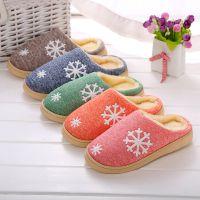 冬季保暖棉拖鞋居家鞋防滑柔软情侣棉拖鞋厚底情侣室内防滑毛拖鞋