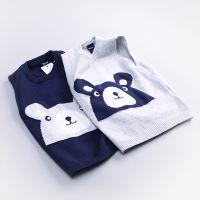 1117H厂家直销2018童针织衫韩版中小童新款针织背心儿童马甲