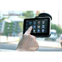外贸便携式4.3寸GPS导航仪、标配4G、FM发射、预装各国GIGO
