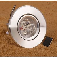 LED3W开孔5cm5.5 6cm5-6公分小射灯天花灯牛眼灯50mm55 60小筒灯