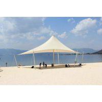 专业篷房膜结构设计制作安装经验,景观张拉膜结构,