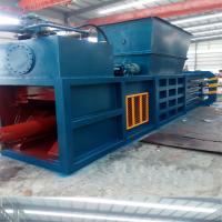 半自动服装液压打包机 力锋加工定制棉花压包机 180吨农作物打包机