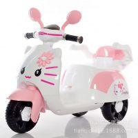 批发新款高档儿童米奇款儿童电动三轮踏板摩托车    淘宝一件代发