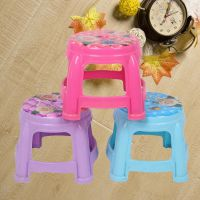 塑料圆凳印花塑料圆凳儿童塑料凳卡通时尚塑料矮凳换鞋凳卡通凳