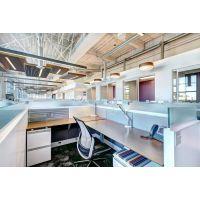 写字楼办公室装修中的主题色彩怎么把握?办公室隔断如何设计