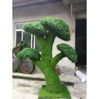 四川成都仿真绿雕植物厂家制造 动物一卡通造型 植物花坛造型定制
