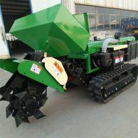 農家肥施肥開溝機 潤豐 履帶式旋地耕草機