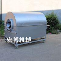 电加热炒货机 大型滚筒炒锅设备 小型电加热炒货机