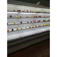 定制不锈钢型烤漆型材风幕柜立风柜水果保鲜柜仟曦厂家直销