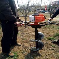硬土质植树挖坑机 山东慧聪牌果园种植打坑机价位