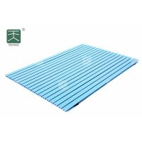 天戈A级防火防潮环保铝条缝吸音板铝合金材质