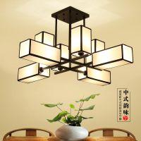 新中式创意吊灯客厅灯 中国风装修灯具 会所酒店灯饰现代复古灯具
