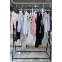 台绣杭州女装品牌尾货加盟折扣 a伊曼莱女装品牌尾货绿色皮衣