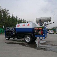 洒水车厂家直供 农村城镇环卫车 小型三轮洒水车价格