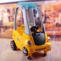 儿童电动小房车遥控四轮婴儿推车可手推 可遥控带早教功能