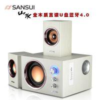 Sansui/山水 GS-6000(60A)蓝牙多媒体电脑音箱台式插卡影响低音炮