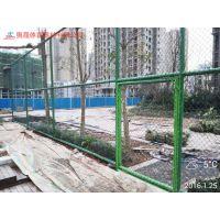 长沙市开发区篮球场围网 街头小区防护网安全施工