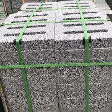 深圳石材厂家福建白麻 芝麻白花岗岩石材树池 树围 路沿石 路缘石