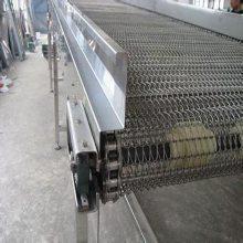 不锈钢网带输送机食品饮料流水线网链输送机