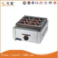 广州双驰三角燃气烧饼炉红豆饼机商用烤饼机家用厨房设备厂家批发