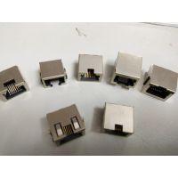 供应兴伸展PCB插座直通式网口