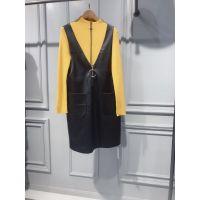 品牌剪标折扣店女装货源工厂直销女装毛衣外套