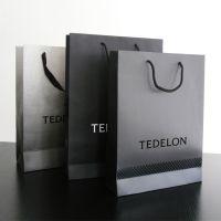 厂家定制白卡纸 化妆品袋印刷广告手提纸袋定做服饰包装纸袋