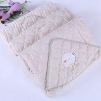 24 新款 婴儿睡袋 儿童专用彩棉抱毯 新生儿包被 宝宝包巾批发