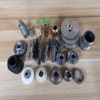 东莞富泽齿轮厂家机加工+滚齿加工电机马达齿轮轴 材料45#