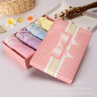批发 毛巾包装盒 文胸丝巾礼品盒 包装纸盒手提袋定做 手巾礼盒