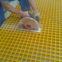 供应化工厂围栏 化工厂平台 玻璃钢格栅 河北华强