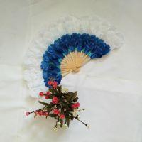 舞扇牡丹大花瓣 舞蹈扇 基督教舞扇 广场舞扇 大型开幕式造型舞扇