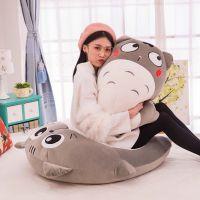 新款创意软体抱枕玩具爆款龙猫毛绒公仔及软坐垫靠背生日礼品批发