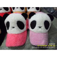 供应英英帽业棉熊猫帽