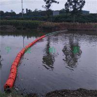 河道拦截浮筒 串联塑料浮体 拦截水面漂浮垃圾漂浮物