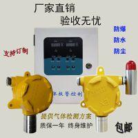 可燃气体报警器探测器检测仪固定式工业