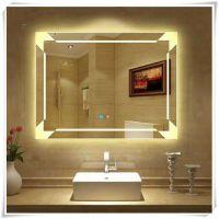 新款智能镜 洗手间洗漱台除雾LED灯镜 发光化妆镜批发