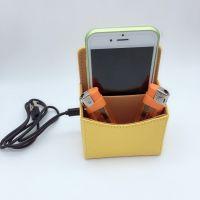 无线充电车载收纳盒 多功能无线充