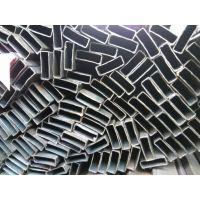 家具管黑料扁管异形管13*38*0.8佛山家具管生产厂家可折弯变形