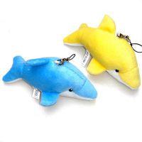 厂家定制 毛绒海豚玩具挂件  可外贸出口