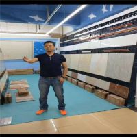 冲孔板挂钩展柜 陶瓷货架网孔板 墙纸铁板展架 包头钢板网展示架