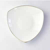 唐山瓷亿美 厂家批发陶瓷餐具 创意骨瓷盘子家用8寸饭盘酒店碗盘碟定制logo