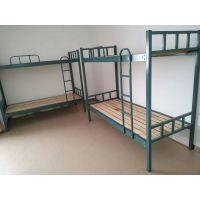 合肥上下铺床、简约现代公寓床、H-170款宿舍铁架床 钢木公寓床配送安装