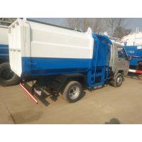 厂家直销大型汽车挂桶式垃圾车 小型三轮垃圾车 电动四轮垃圾车