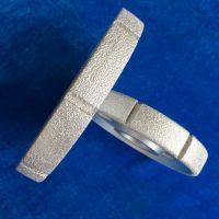 定做异形非标钎焊金刚石工具砂轮磨头磨橡胶铸铁用