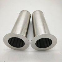不锈钢金属烧结丝网滤芯 微米级过滤水气体灰尘过滤